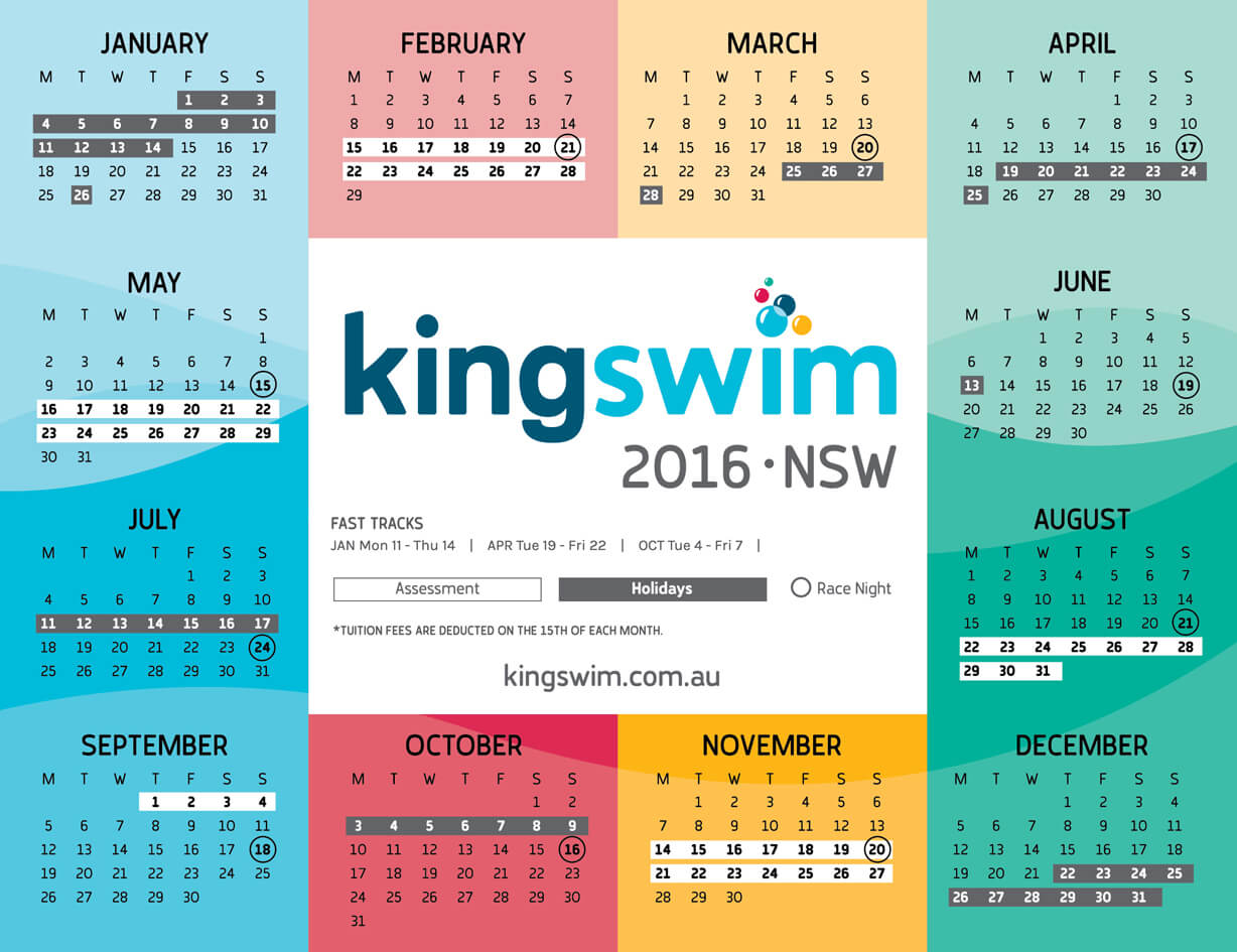 Calendar Nsw : Macarthur square swimming school learn to swim in