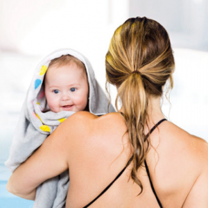 What should my baby wear for swimming lessons?